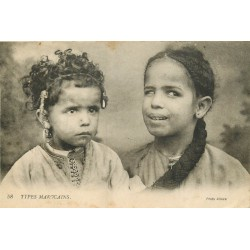 SCENES ET TYPES DU MAROC. Enfants Marocains