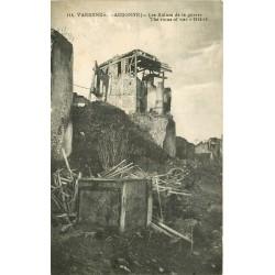 55 VARENNES EN ARGONNE. Les Ruines de la Guerre 1920