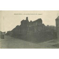 GRAND-RENG. Ruines des Ecoles de Jaupart 1920