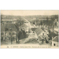carte postale ancienne 02 SOISSONS. Caserne Jeanne d'Arc