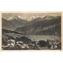 SUISSE. Photo Cpa Saint-Beatenberg 1927