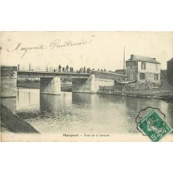 59 MARPENT. Pont sur la Meuse animation 1911