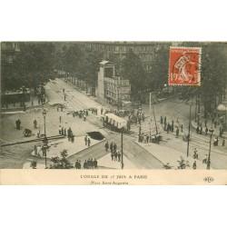 75009 PARIS. L'Orage du 15 Juin 1914