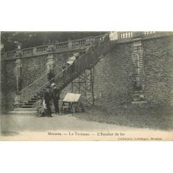 92 MEUDON. L'Escalier de fer sur la Terrasse
