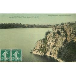 63 MANZAT. Lac de Tazenat 1919