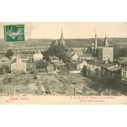 86 LIGUGE. Bourg et Abbaye Saint-Martin 1912