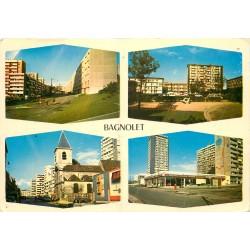Photo Cpsm Cpm 93 BAGNOLET. Divers aspects de la Ville 1976