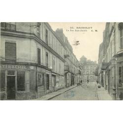 93 BAGNOLET. Rue Jean-Jaurès ex rue de Ménilmontant écrite à M. Graindorge 1927