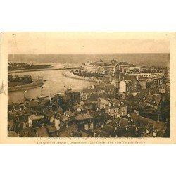 carte postale ancienne 14 TROUVILLE. Casino à l'Embouchure de la Touques 1936