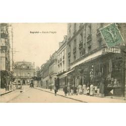 93 BAGNOLET. Quincaillerie rue du Progrès devenue rue Raoul Berton 1922