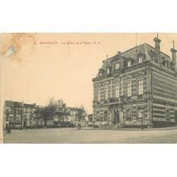 93 BAGNOLET. Place de la Mairie et la rue Marceau à gauche