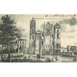 12 RODEZ 1916. Place d'Armes sous la Restauration vers 1820