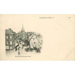 76 NEUFCHATEL-EN-BRAY. Grande Rue Fausse-Porte vers 1900