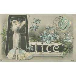 Prénoms. ALICE 1906