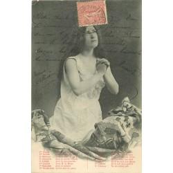 Illustrateur BERGERET. La Prière de la Sainte-Catherine 1904