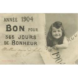 Illustrateur BERGERET. Année 1904 Bébé dans enveloppe