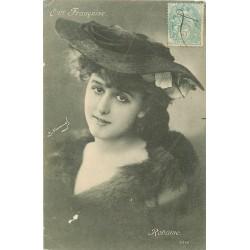 ARTISTE DE SPECTACLE. Robinne de la Comédie Française 1904