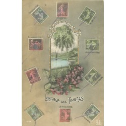Langage des Timbres 1915