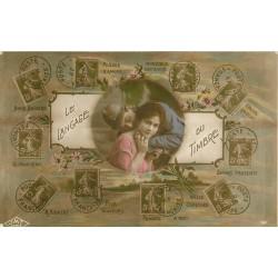 Le Langage du timbre avec Poilu 1917