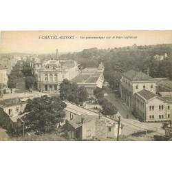 63 CHATEL-GUYON. Vue sur le Parc inférieur et le Théâtre