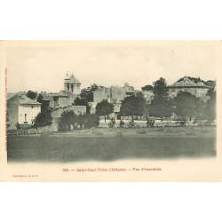 26 SAINT-PAUL-TROIS-CHATEAUX. Vue d'ensemble vers 1900