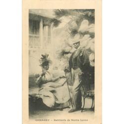 GUINEE. Conakry. Habitants de Sierra Leone vers 1900