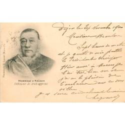 AFRIQUE DU SUD. 1900 Hommage à Krüger défenseur du droit opprimé 1900