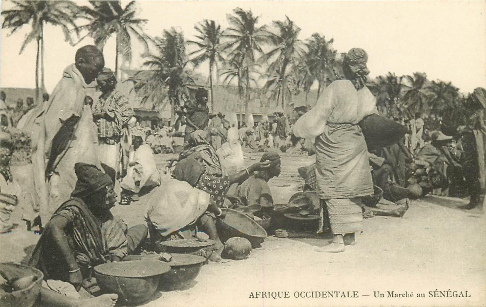 SENEGAL. Un Marché
