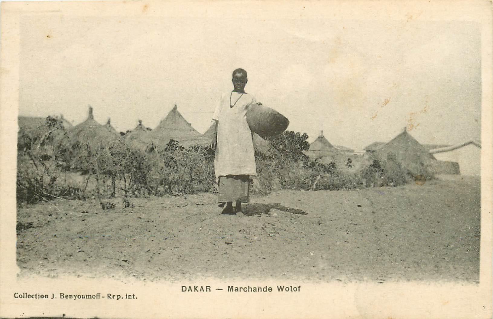 SENEGAL. Marchande Wolof