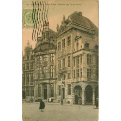 BRUXELLES. Maison des Corporations sur Grand'Place 1911