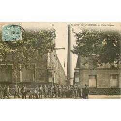 93 PLAINE SAINT-DENIS. Sortie des Ouvriers de l'Usine Mouton 1905