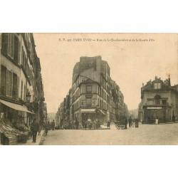 PARIS XVIII° Fromagerie rues de la Charbonnière et de la Goutte d'Or 1910
