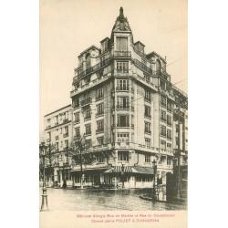 PARIS XVIII° Ciment Poliet & Chausson rues de Maistre et Caulaincourt