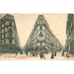 PARIS XVIII° Pharmacie rues Doudeauville et Poulet 1910
