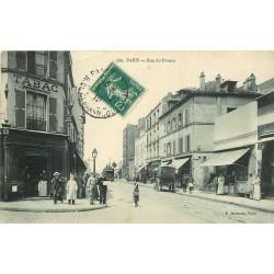PARIS XVIII° Café Tabac rue du Poteau 1910