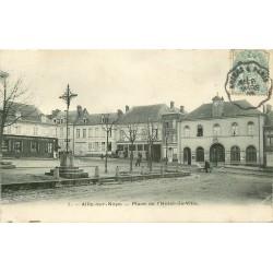 80 AILLY-SUR-NOYE. Approvisionnement général Place Hôtel de Ville 1905