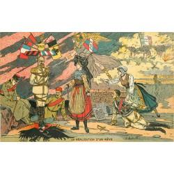 MILITARIA. La réalisation d'un Rêve par Bataille. Tombola 1917