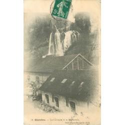 01 GLANDIEU. Cascade et Marbrerie 1911