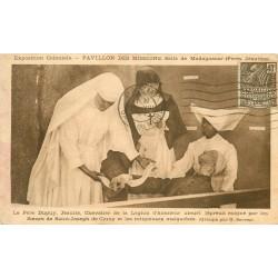 MADAGASCAR. Mort de la lèpre du Père Dupuy Jésuite 1931