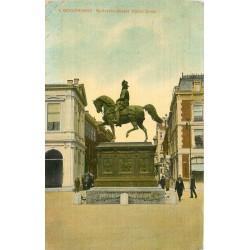 PAYS-BAS. Ruiterstandbeeld Noord Einde à Gravenhage 1919