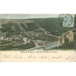 BELGIQUE. Château de Freyer Vallée de la Meuse 1905