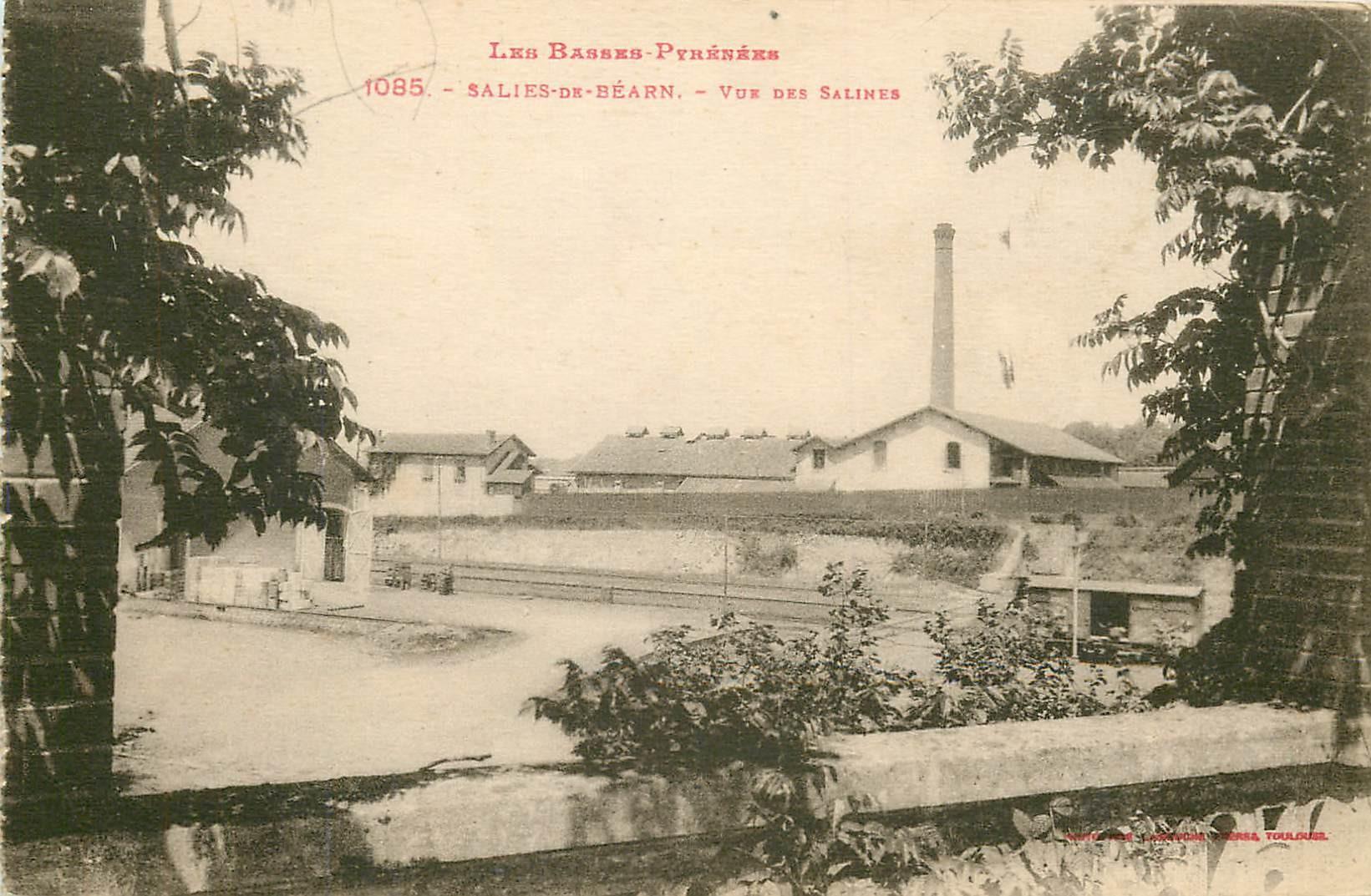 64 SALIES-DE-BEARN. Vue des usines Salines