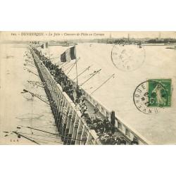 59 DUNKERQUE. Concours de Pêche au Carreau sur la Jetée 1915