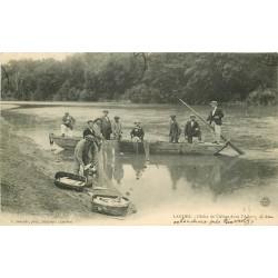 40 LANDES. Pêche de l'Alose dans l'Adour 1908