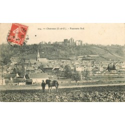 78 CHEVREUSE. Laboureur dans les Champs 1910