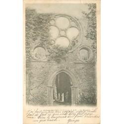 78 CERNAY-LA-VILLE. Rosace de l'Abbaye des Vaux de Cernay 1903