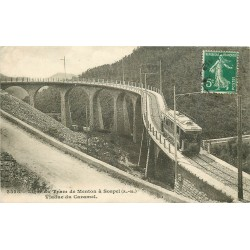 06 Ligne du Tramway de Menton à Sospel. Viaduc du Caramel 1912