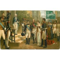 NAPOLEON. Et la Reine de Prusse à Tilsit