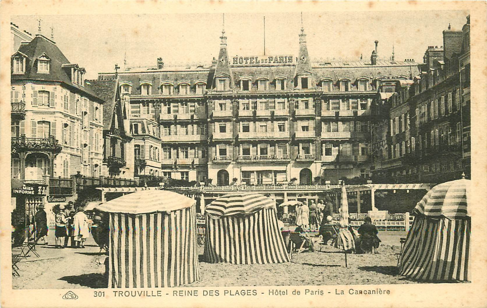 14 trouville la cancani re et h tel de paris for Hotel des bains paris 14