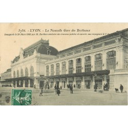 69 LYON. La Nouvelle Gare des Brotteaux 1908